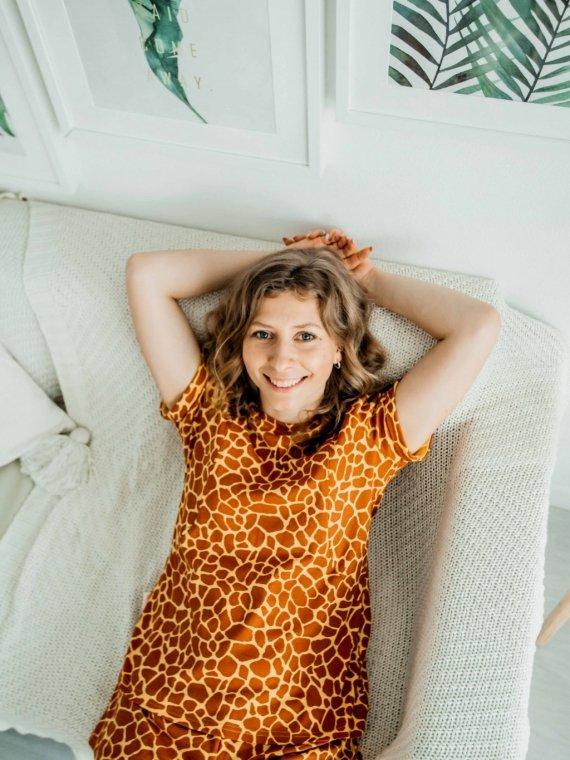 Пижама женская жираф Vikki Kids