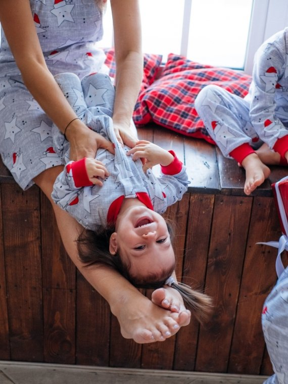 Слип новогодние звезды Vikki Kids