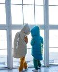 Дино - жилетка голубой Vikki Kids