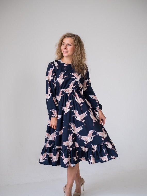 Платье женское журавли Vikki Kids