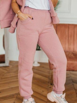 трикотажные с начесом Розовая пудра Vikki Kids