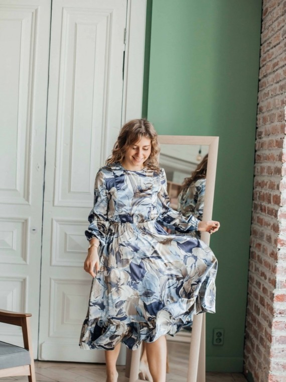 Платье женское цветы Vikki Kids