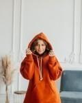 Свитшот женский трикотажный с начесом корица Vikki Kids
