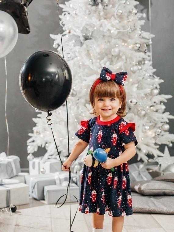 Платье детское трикотажное маршмеллоу Vikki Kids