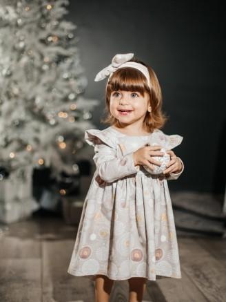 """""""Софи"""" Новогодние серые шары Vikki Kids"""