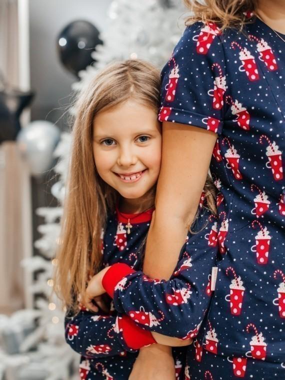 Пижама женская с футболкой и брюками маршмеллоу Vikki Kids