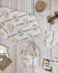 Пеленка муслиновая деревянные игрушки Vikki Kids