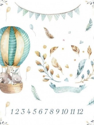 муслиновая цифры воздушный шар Vikki Kids