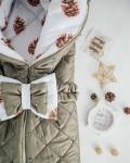 Конверт на выписку и для прогулок сибирские шишки Vikki Kids