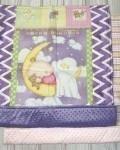 Одеяло спящий пупс Vikki Kids