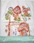 Одеяло домик гномиков Vikki Kids