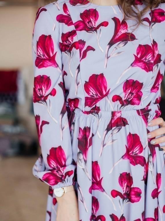 Платье женское лилии Vikki Kids