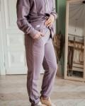 Костюм женский трикотажный пудрово - лиловый Vikki Kids