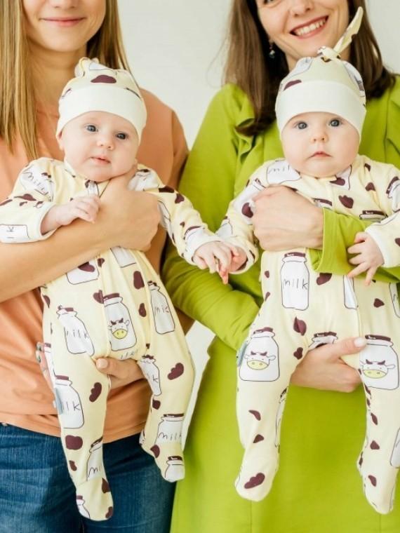 Слип хлопковый milk Vikki Kids