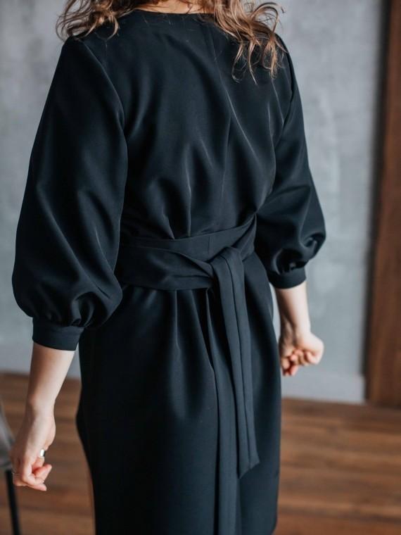 Платье женское лори черное Vikki Kids