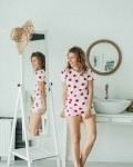 Пижама женская красные сердца Vikki Kids