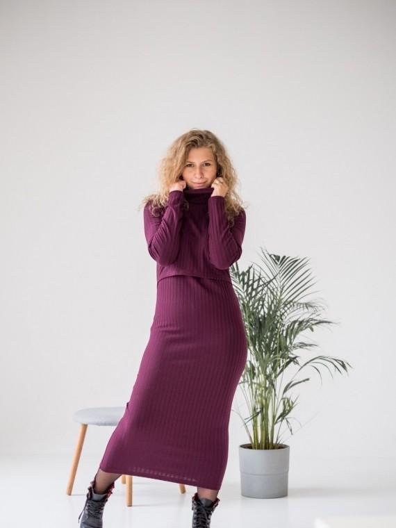 Платье женское фиолетовое Vikki Kids