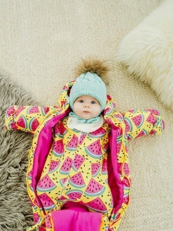 Комбинезон зимний арбузы Vikki Kids