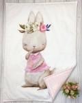 Одеяло заяц Vikki Kids