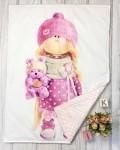 Одеяло кукла Vikki Kids