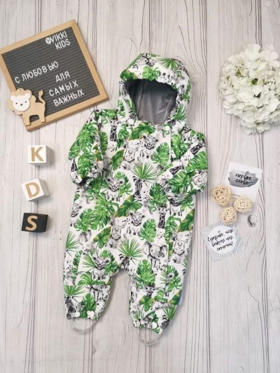 Комбинезон деми листья Vikki Kids