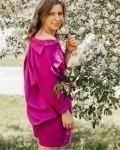 Костюм женский летний с шортами фуксия Vikki Kids