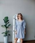 Платье женское лори небесно-голубой Vikki Kids