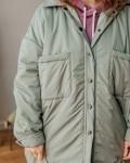 Куртка женская деми оливка Vikki Kids