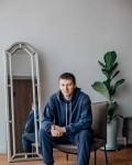 Костюм мужской трикотажный синий Vikki Kids