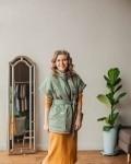 Платье женское моника горчица Vikki Kids