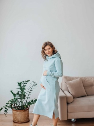 платье Небесно - голубой Vikki Kids