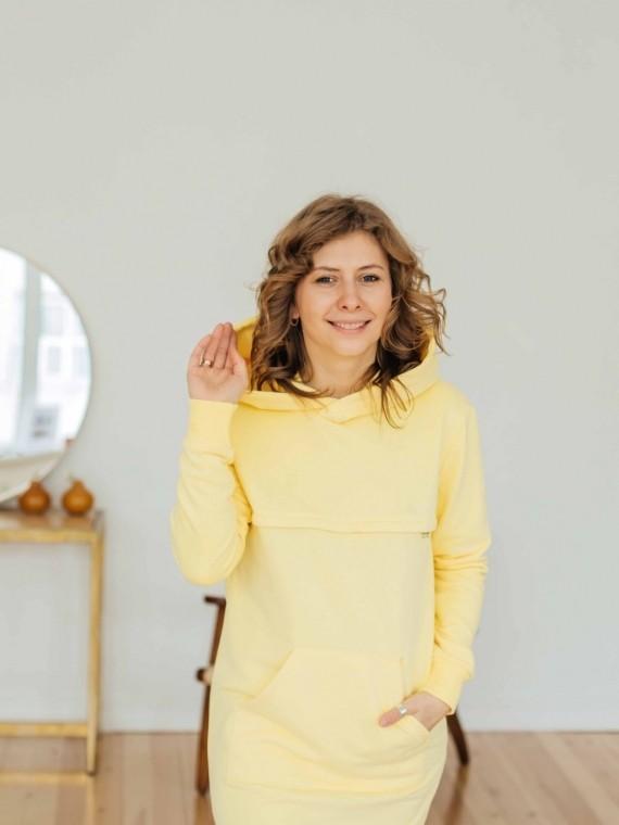 Худи женское платье лимон Vikki Kids