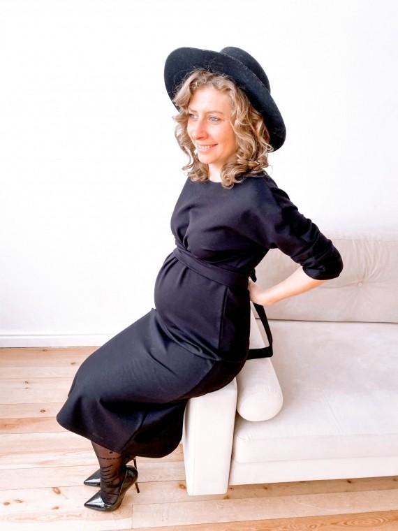 Платье женское моника черное Vikki Kids