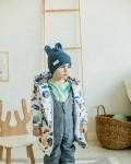Куртка детская демисезонная белая планеты Vikki Kids