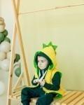 Дино - жилетка желто-зеленая Vikki Kids