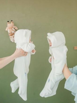 -мишка плюшевый молочный Vikki Kids