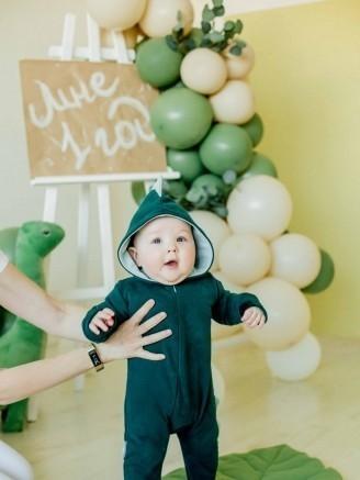 -дино трикотажный зеленая ель Vikki Kids