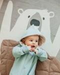 Комбинезон -дино небесно -голубой Vikki Kids