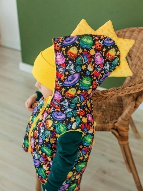 Шапка трикотажная лимон Vikki Kids