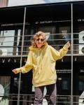 Костюм женский комбинированный лимон+ графит Vikki Kids