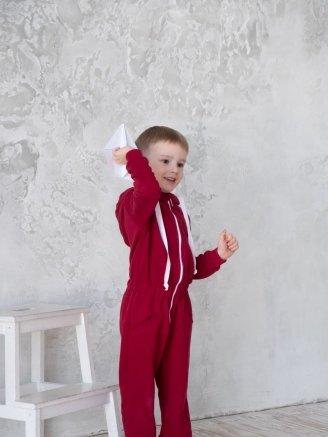 трикотажный Бордо Vikki Kids