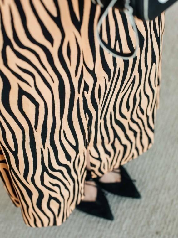 Юбка женская с принтом тигра Vikki Kids