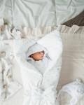 Конверт на выписку и для прогулок зимний белоснежный Vikki Kids
