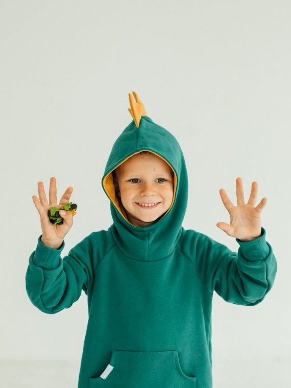 Костюм детский дино зеленый Vikki Kids