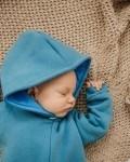 Комбинезон трикотажный с начесом голубой бриз Vikki Kids